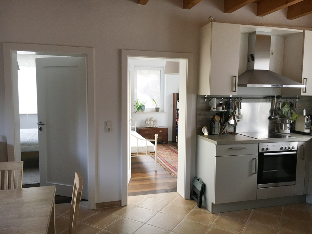 Spirituelle Begegnungsstätte Casa Smi Eifel - Wohnküche