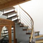 Spirituelle Begegnungsstätte Casa Smi Eifel - Treppenhaus